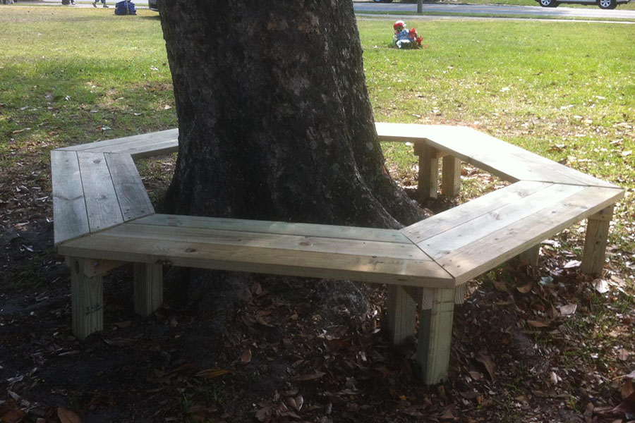 tree bench 1 2