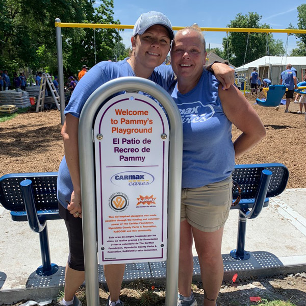 The CarMax Foundation and KABOOM! playspaces 13