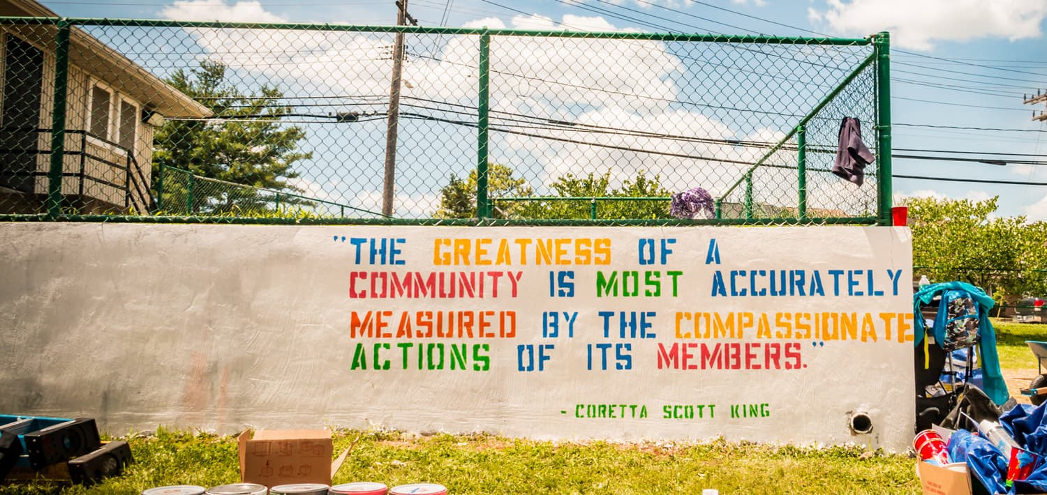 The greatness of a community is most accurately measured by the compassionate actions of its members - Coretta Scott King
